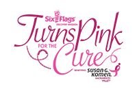 Six Flags Turns Pink for the Cure