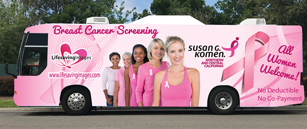 Life Savings Images Mammography Van Providing Screenings May 12 and 13